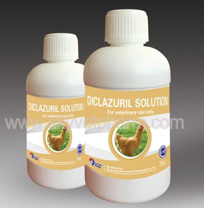 Diclazuril Solution, Florfenicol Solution, Tilmicosin Solution