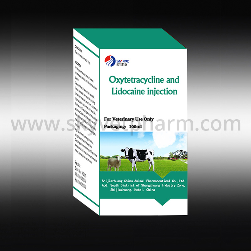 Oxytetracycline and Lidocaine Injection