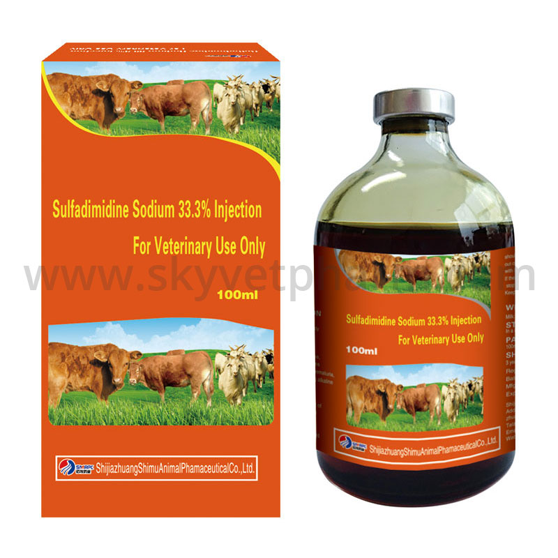 Sulfadimidine Sodium 33.3% Injection