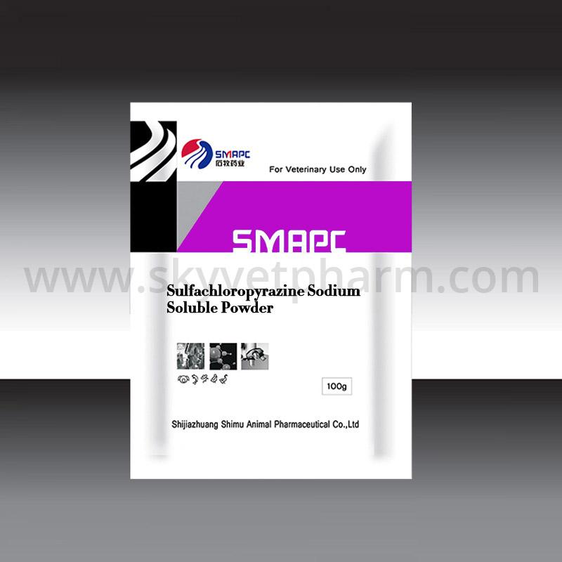 Sulfachloropyrazine sodium soluble powder