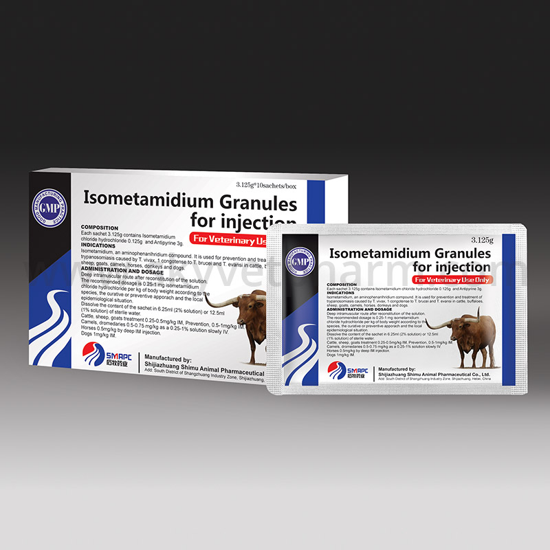 Isometamidium Granules for injection