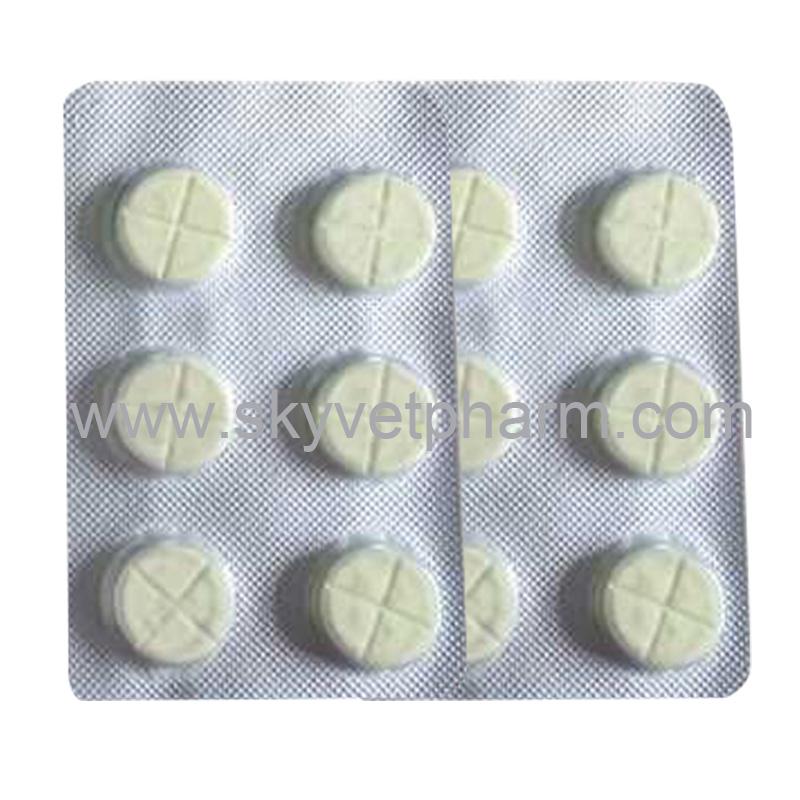 Febantel Praziquantel and Pyrantel Pamoate Tablet