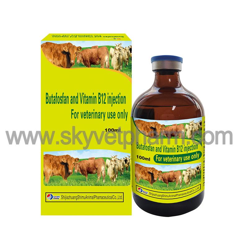 Butafosfan and Vitamin B12 injection
