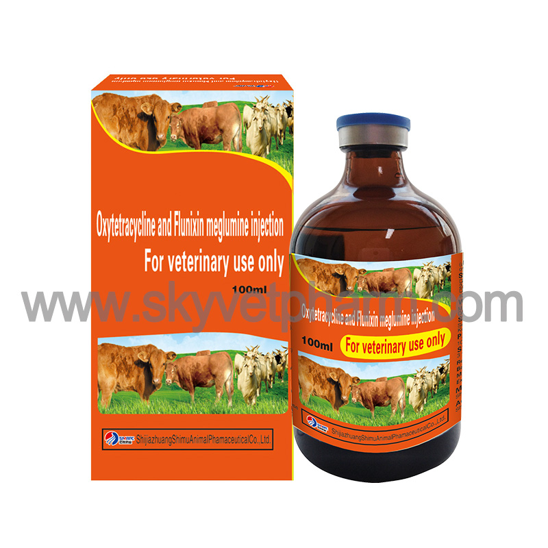 Oxytetracycline and Flunixin meglumine injection