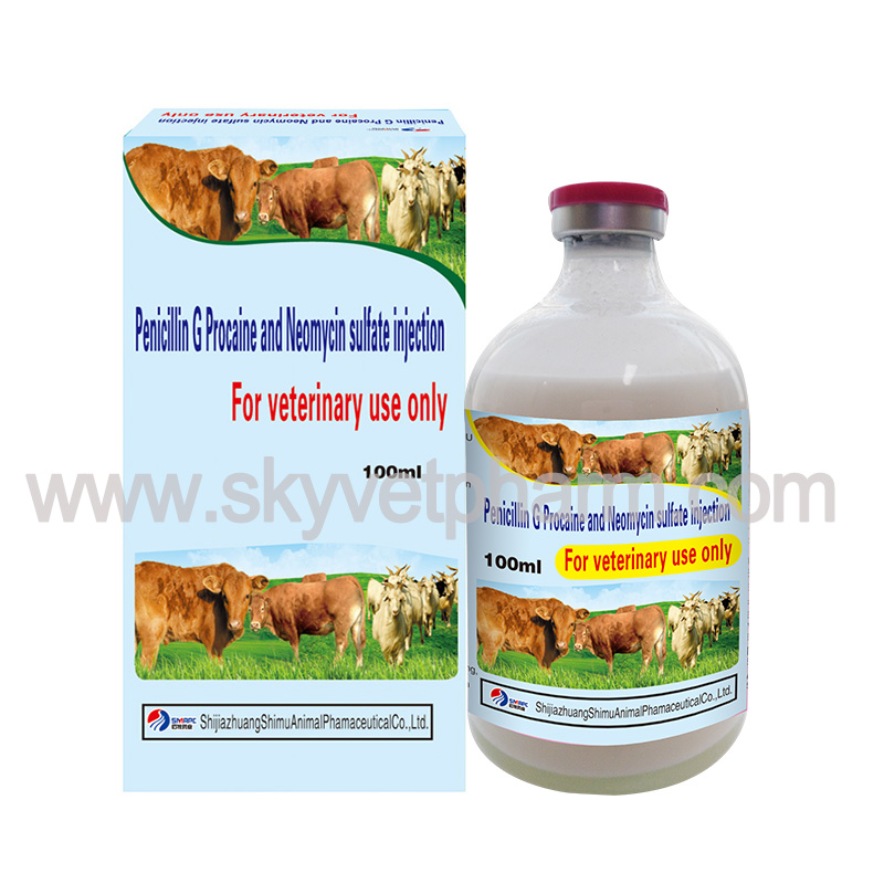Penicillin G Procaine and Neomycin sulfate injection